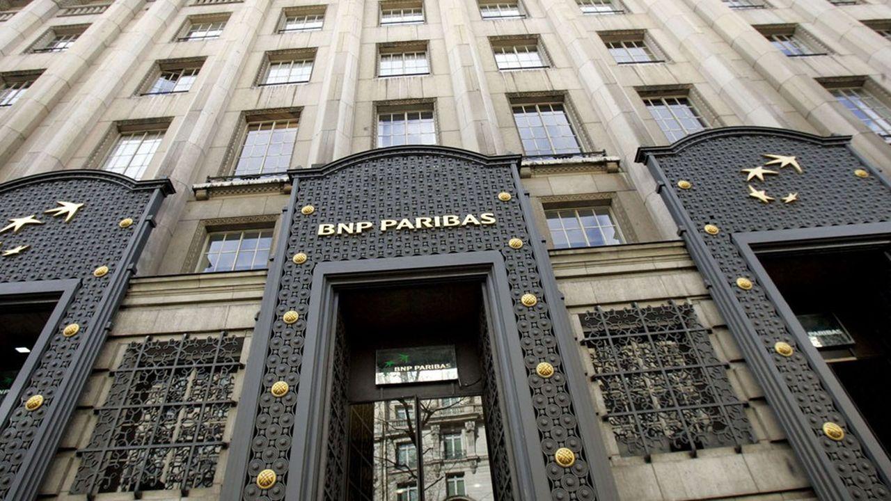 BNP Paribas a dû renoncer à son dividende l'an dernier après avoir reversé plus de 3,7milliards d'euros en 2019.