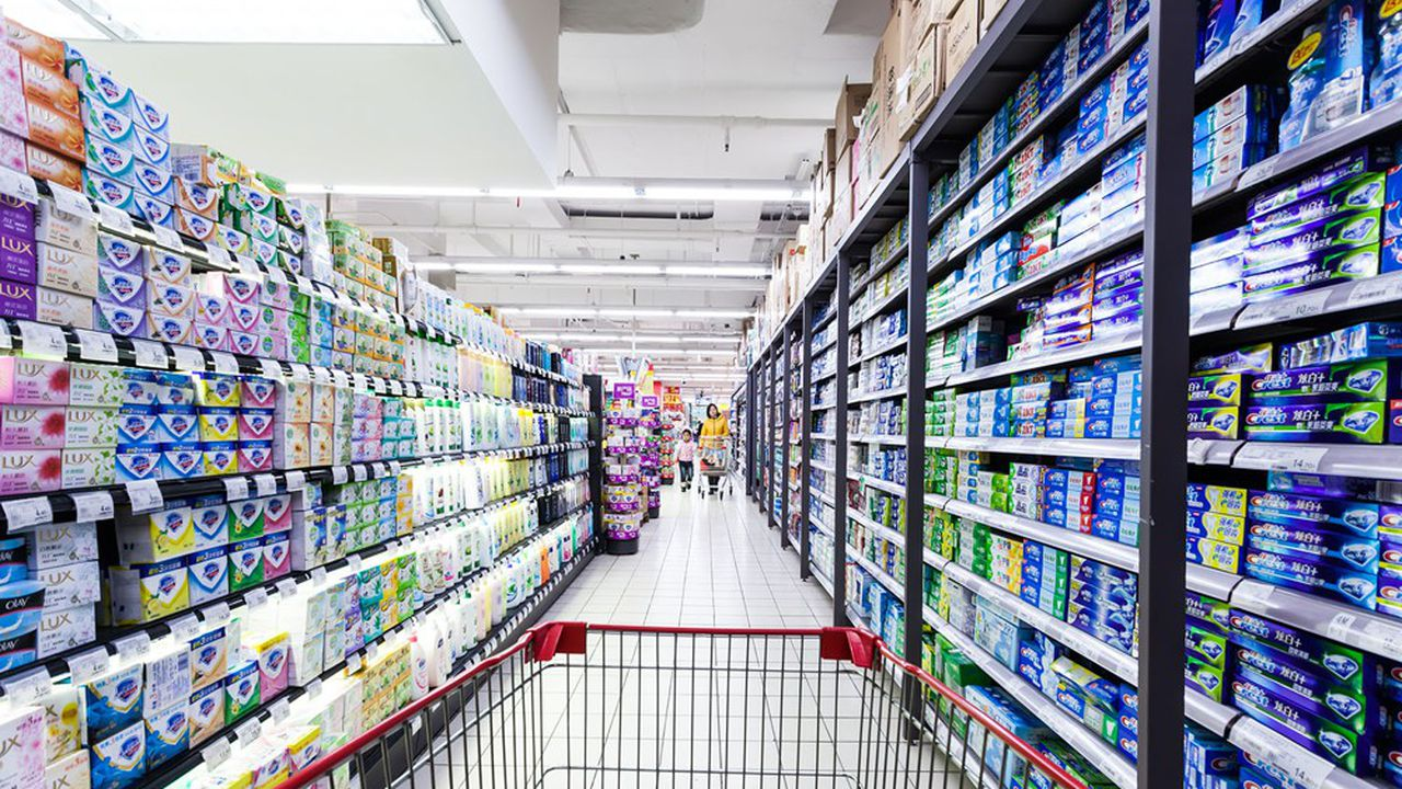 Un supermarché Carrefour à Hangzhou, Chine, en 2014.