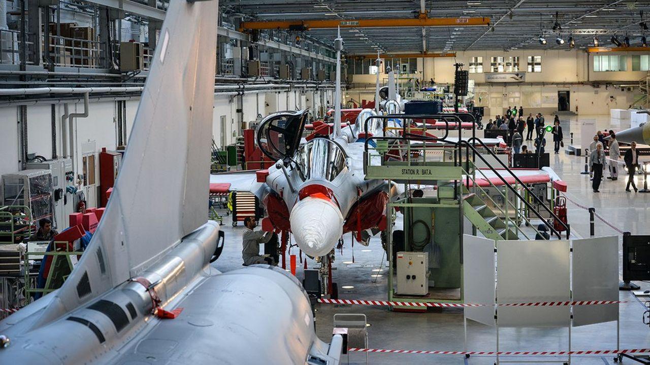 Dassault déclare n'avoir aucun souci à monter les cadences de production de Rafale à Mérignac, en cas de nouvelles commandes à l'exportation.