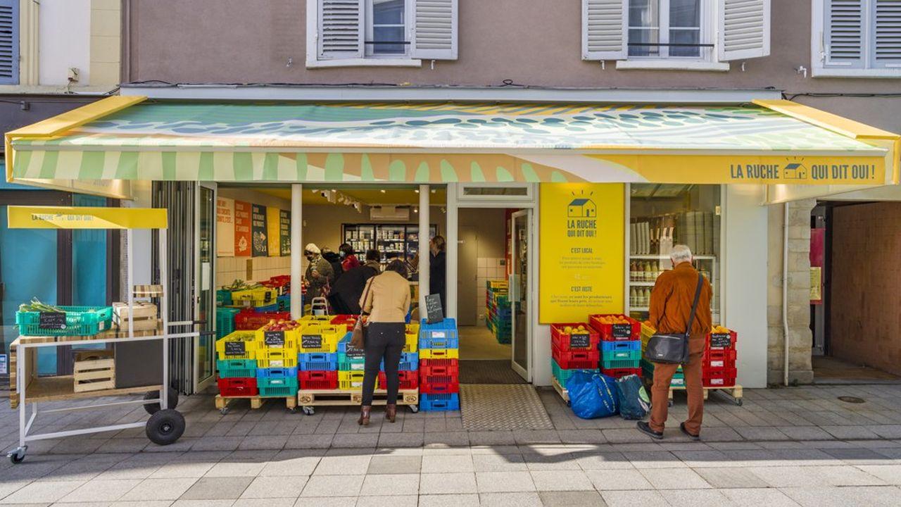 Circuits courts : La Ruche qui dit Oui ! inaugure son réseau de magasins