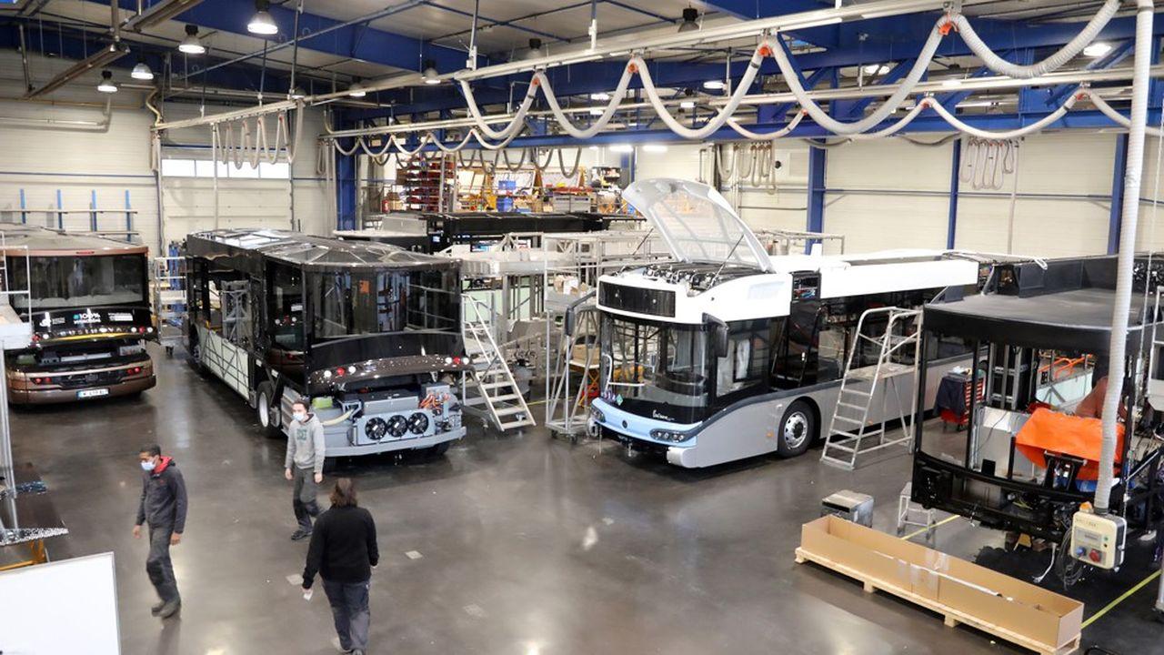 Safra investit dans la construction de bus à hydrogène