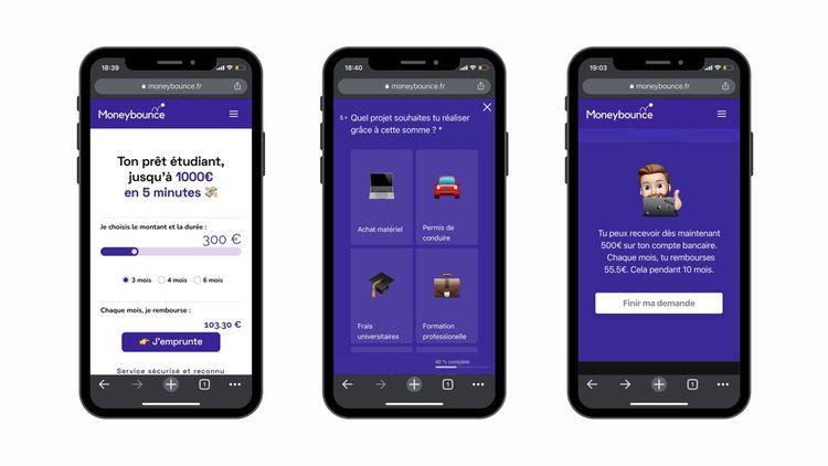 Pour l'heure, Moneybounce est une plateforme web. Une application devrait voir le jour d'ici la fin de l'année.