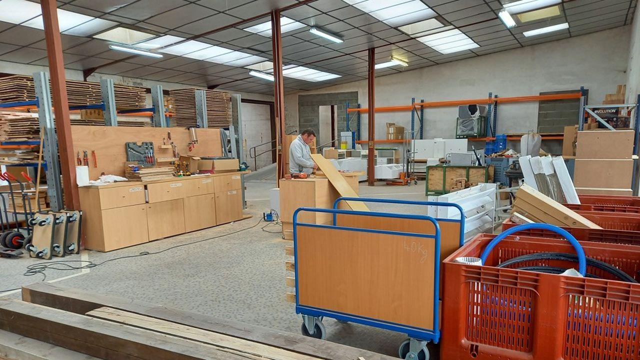 L'objectif est de collecter 100 tonnes de matériaux par an.