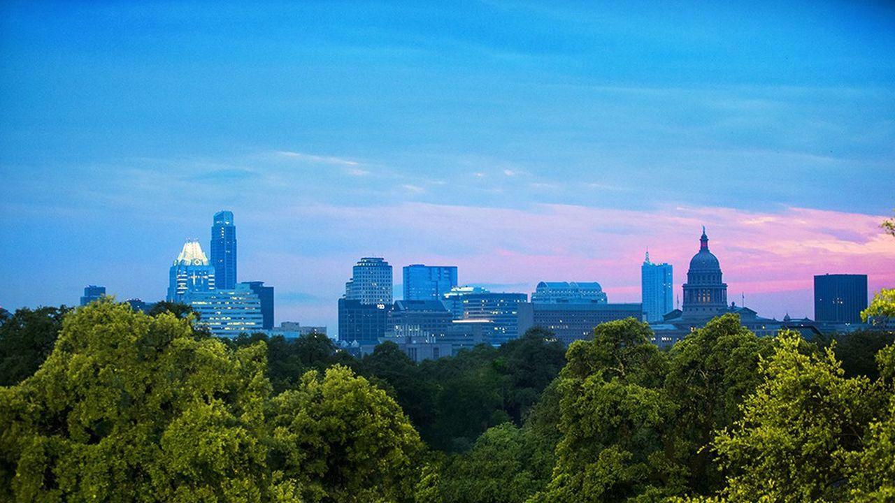 La skyline d'Austin.