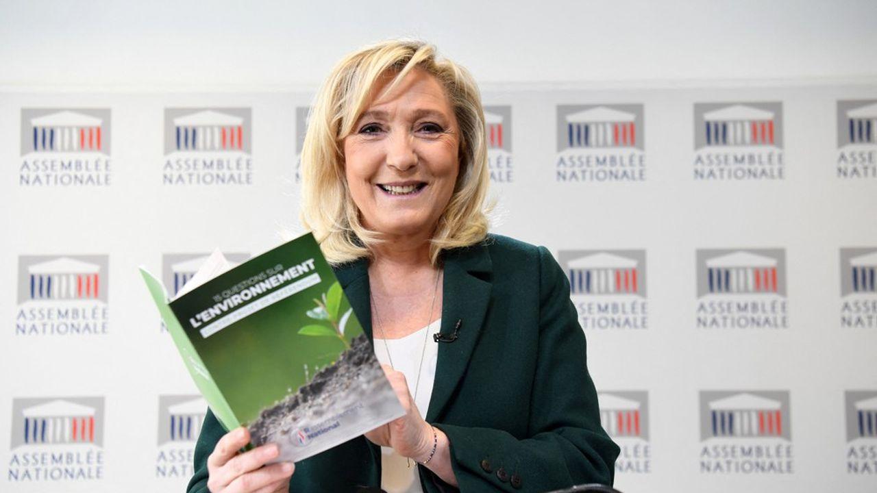 Marine Le Pen souhaite «sortir d'une vision punitive ou idéologique de l'écologie» et lui préfère une «écologie enracinée».