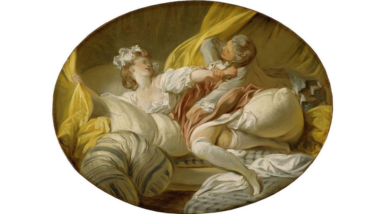 Jean-Honoré Fragonard, «La Résistance inutile», vers 1770-1773, huile sur toile.