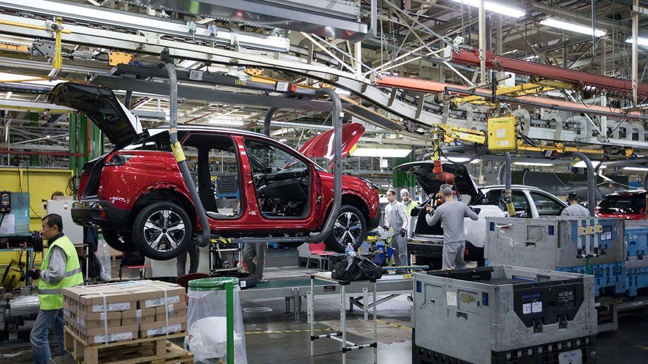 En janvier, la production manufacturière a grimpé de 3,3% par rapport à décembre2020.