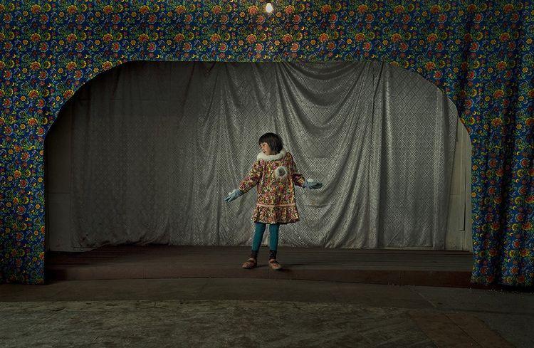 Photo extraite de la série «Arctic Stories» d'Evgenia Arbugaeva.