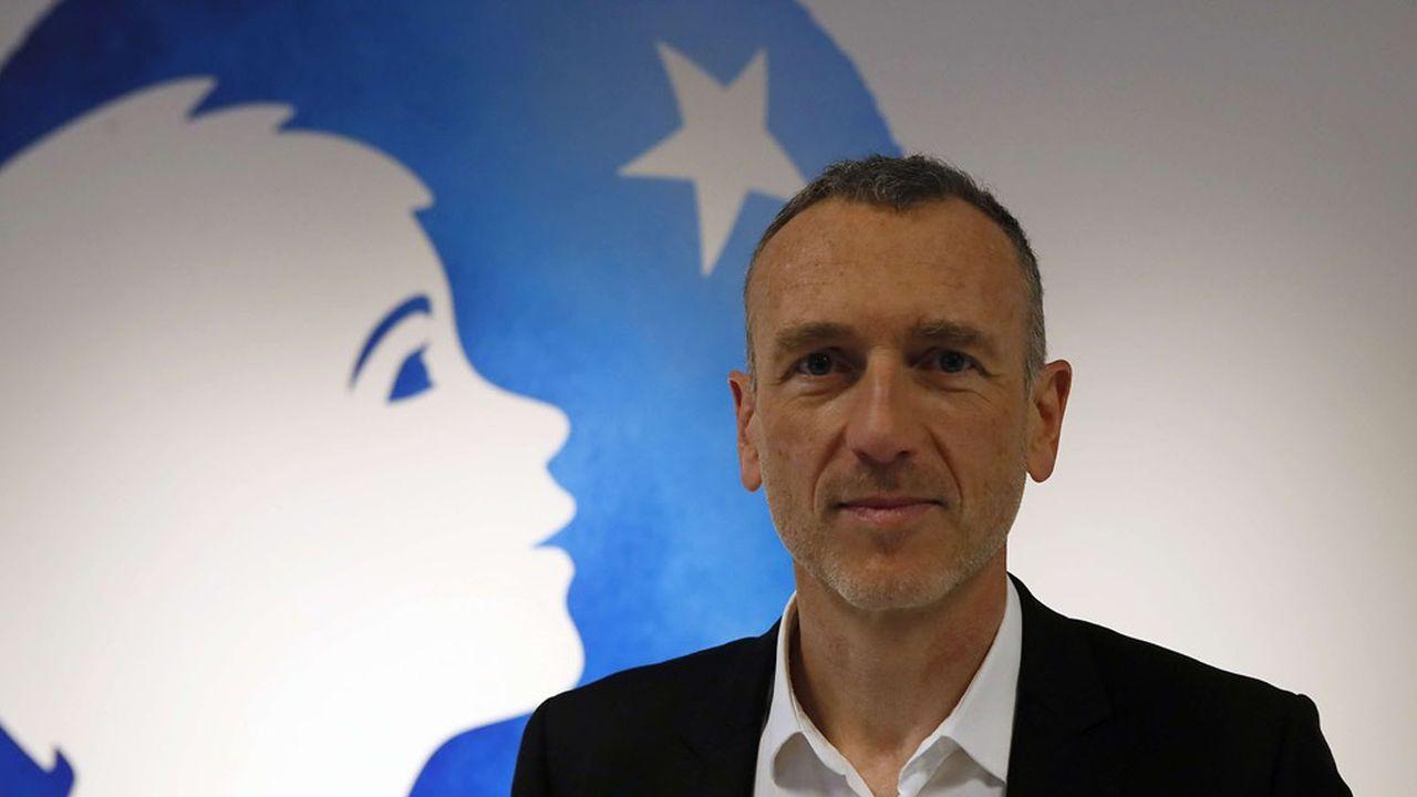 Emmanuel Faber, le PDG de Danone, contesté au sein du conseil d'administration.