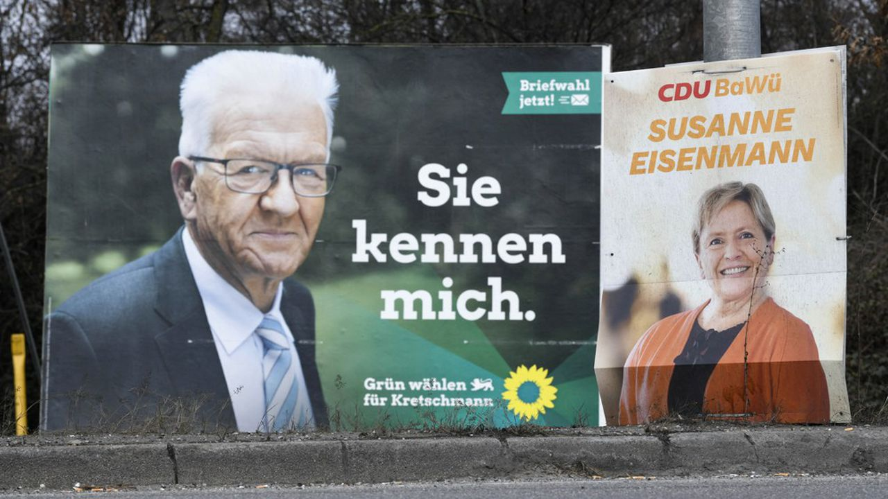 Dans le Bade-Wurtemberg, le très populaire écologiste Winfried Kretschmann affronte une candidate chrétienne-démocrate beaucoup moins appréciée, y compris au sein de son propre électorat.