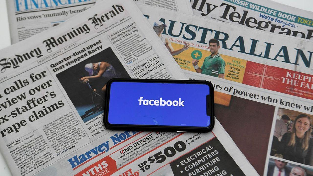 Plusieurs dizaines de médias australiens appartenant à News Corp. sont concernés par cet accord.