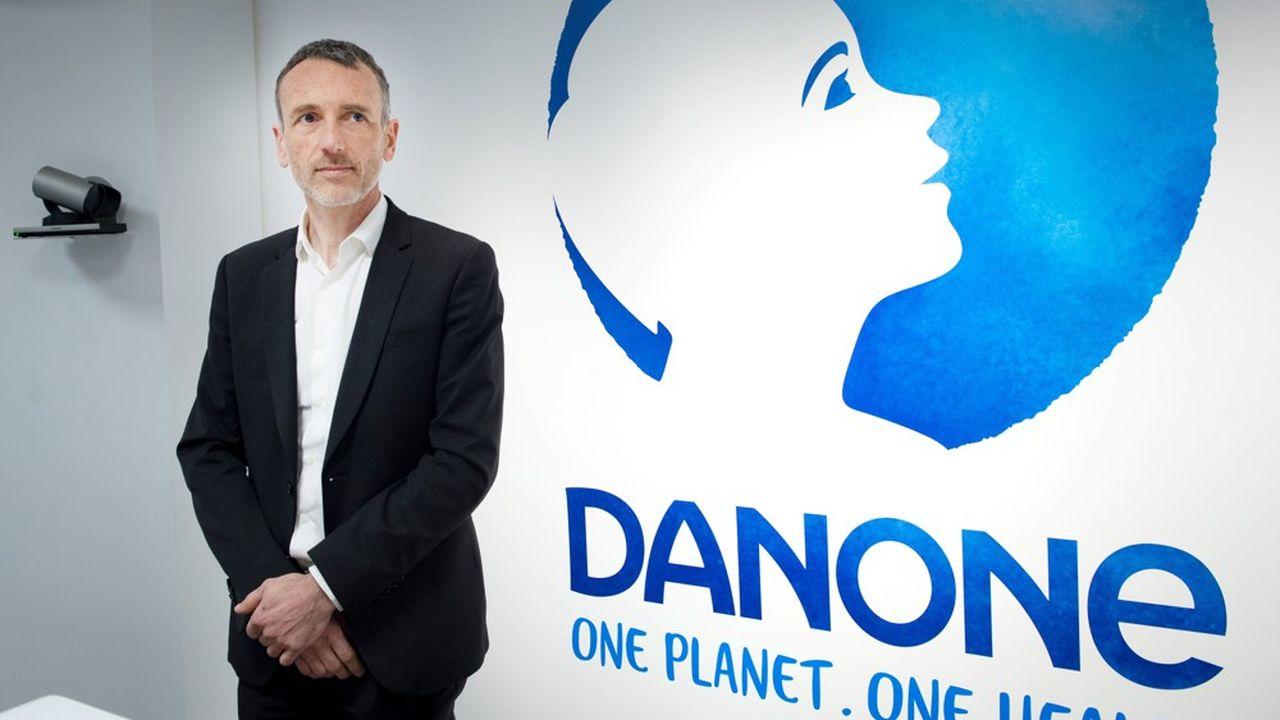 Emmanuel Faber a été évincé des commandes du géant agroalimentaire Danone à la suite d'une crise de gouvernance sous la pression de fonds activistes.