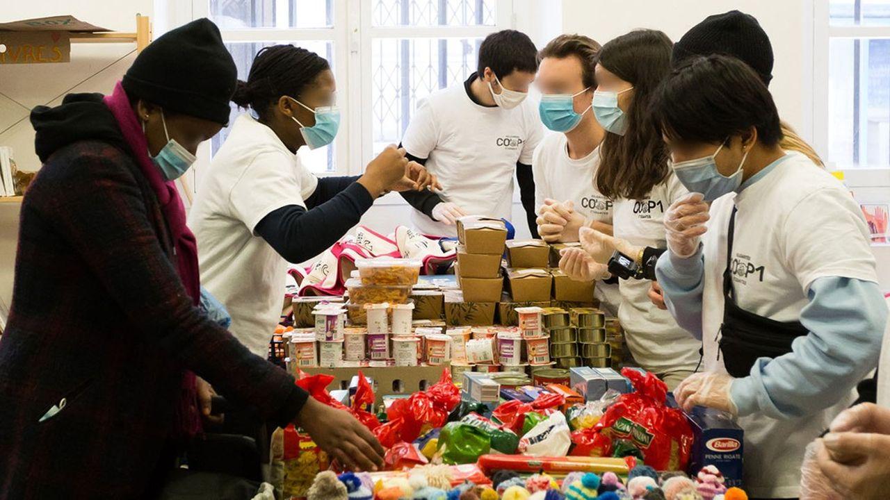 Chaque semaine, 150 à 200étudiants vont recevoir, sous condition de ressources, une aide de l'épicerie solidaire.
