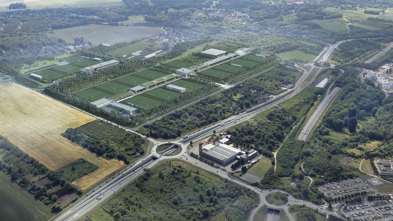 Le centre s'installera à l'été 2022 à proximité du futur campus du PSG, le long de la RN113.