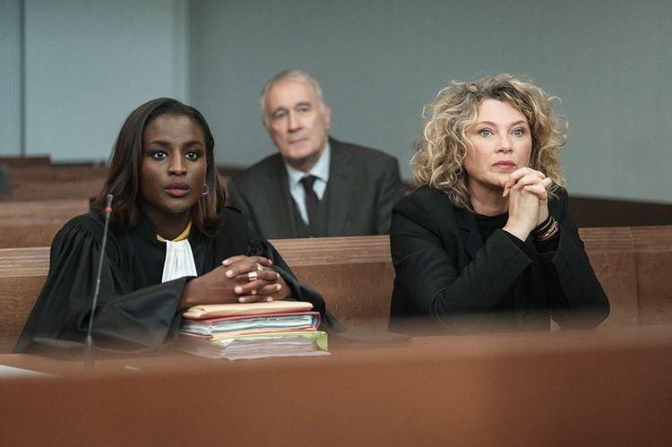Cécile Bois, Mariama Gueye et Bernard Le Coq dans «Gloria».