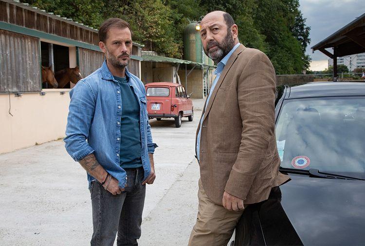 Nicolas Duvauchelle et Kad Merad dans «Un homme d'honneur». © JC LOTHER /Federation / TF1