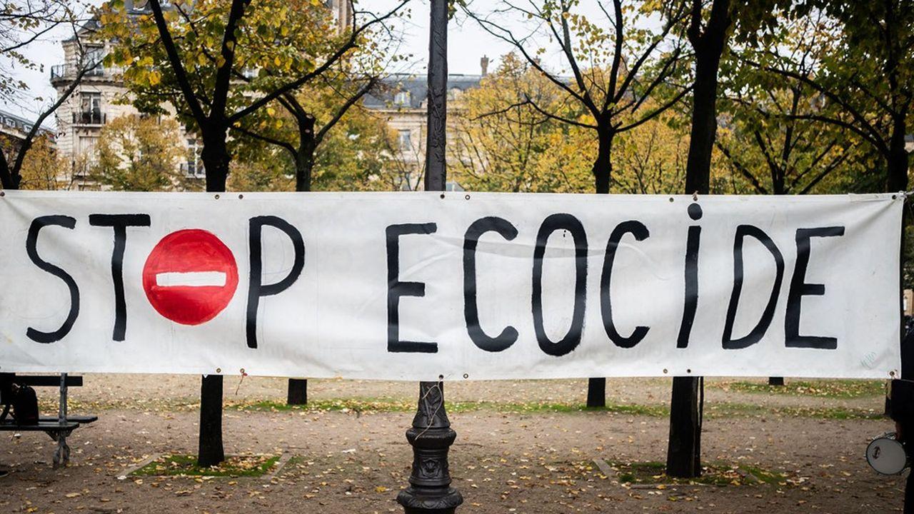 Le terme d'écocide a fait l'objet de débats entre les députés qui ont achevé dans la nuit de jeudi en commission spéciale à l'Assemblée l'examen du projet de loi inspiré des travaux de la Convention citoyenne pour le climat.