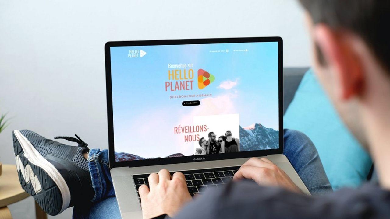 La plateforme HelloPlanet.tv permet aux internautes de reverser des fonds à des associations, et ce, gratuitement.