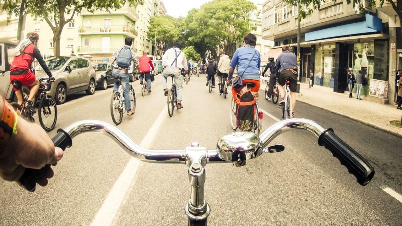 En France 30millions de personnes font du vélo tous les ans et 3millions tous les jours.