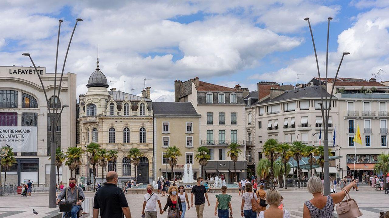 Pau arrive en troisième position des villes moyennes les plus dynamiques avec près d'1,82million de passages mensuel, selon l'étude.