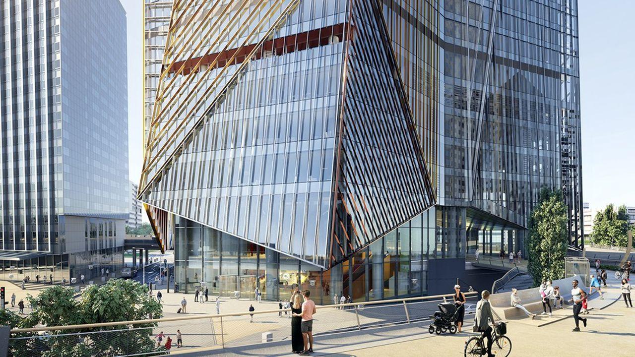 Avec ses 220 mètres de haut, la tour Hekla figurera, après l'été 2022, en seconde position du quatuor des tours de bureaux les plus hautes de France avec First (Paris La Défense), Montparnasse (Paris 15e), et Incity (Lyon). Conçu par Jean Nouvel et co-développé par Hines et AG Real Estate, cet ensemble de 76.000 mètres carrés de bureaux et services réinvente l'espace de travail pour en faire un véritable lieu de vie. Au pied de la tour, une promenade plantée ainsi qu'une offre de restauration nouvelle génération sont également prévues.