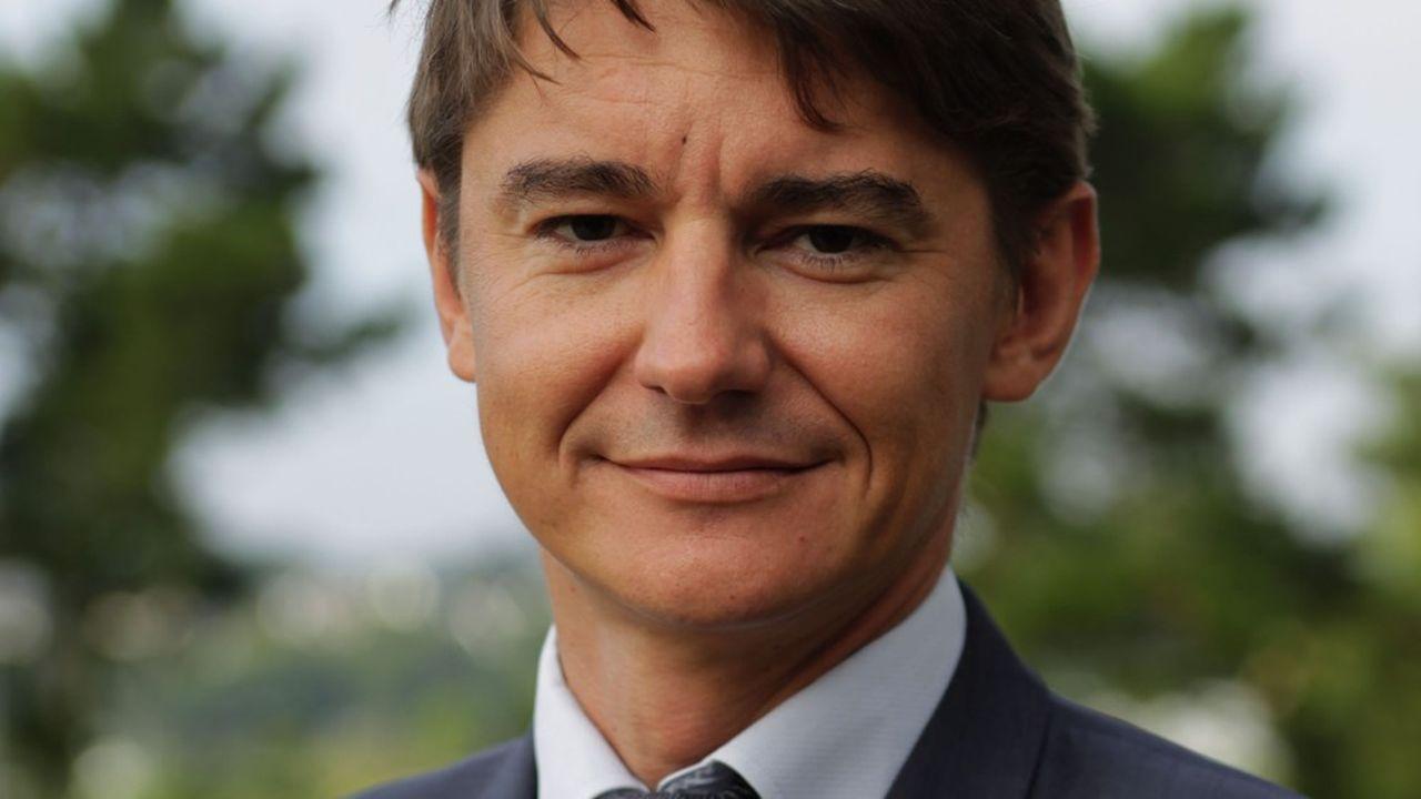 Sébastien Sémeril, vice-président chargé de l'économie et de l'emploi de Rennes Métropole.