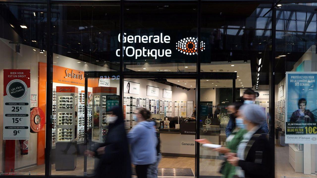GrandVision, propriétaire des enseignes Général d'Optique, GrandOptical et Solaris détient environ 7.000 magasins, dont 75% en Europe.
