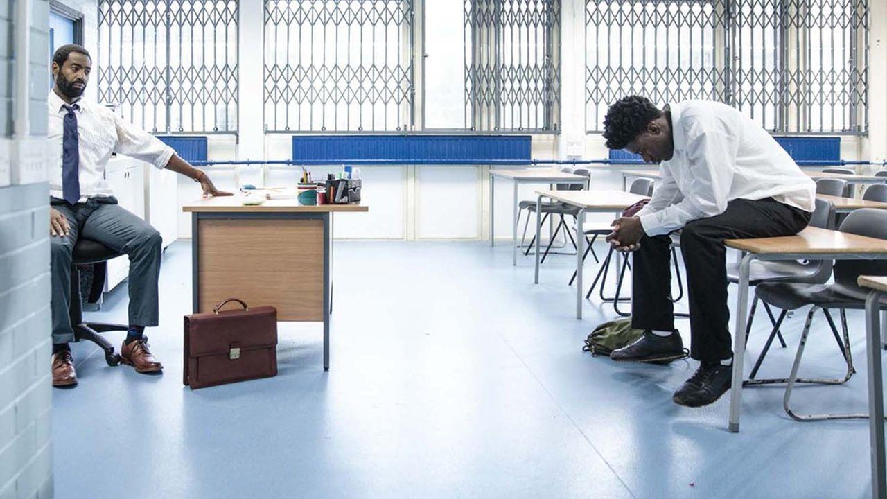 Un film bien servi par ses acteurs, en premier lieu par Sam Adewunmi (à droite), une révélation dans le rôle de Femi.