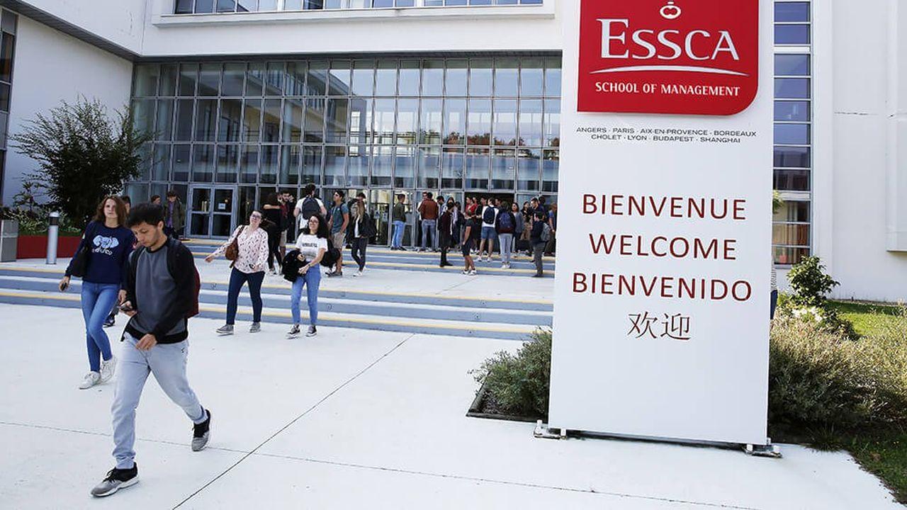 Le campus de l'Essca à Angers (Pays de la Loire)