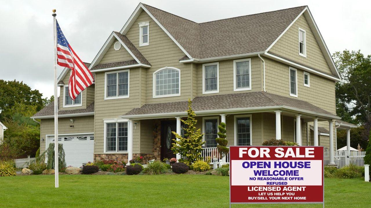 Les ventes de logements anciens sont en hausse de 9,1% sur un an, à 6,22millions d'unités en février.
