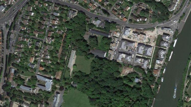 Quatre des bâtiments de l'établissements de Saint-Martin-de-France sont vides.