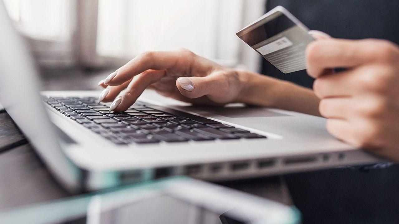 La pandémie de coronavirus s'est accompagnée d'un boom du e-commerce en France.