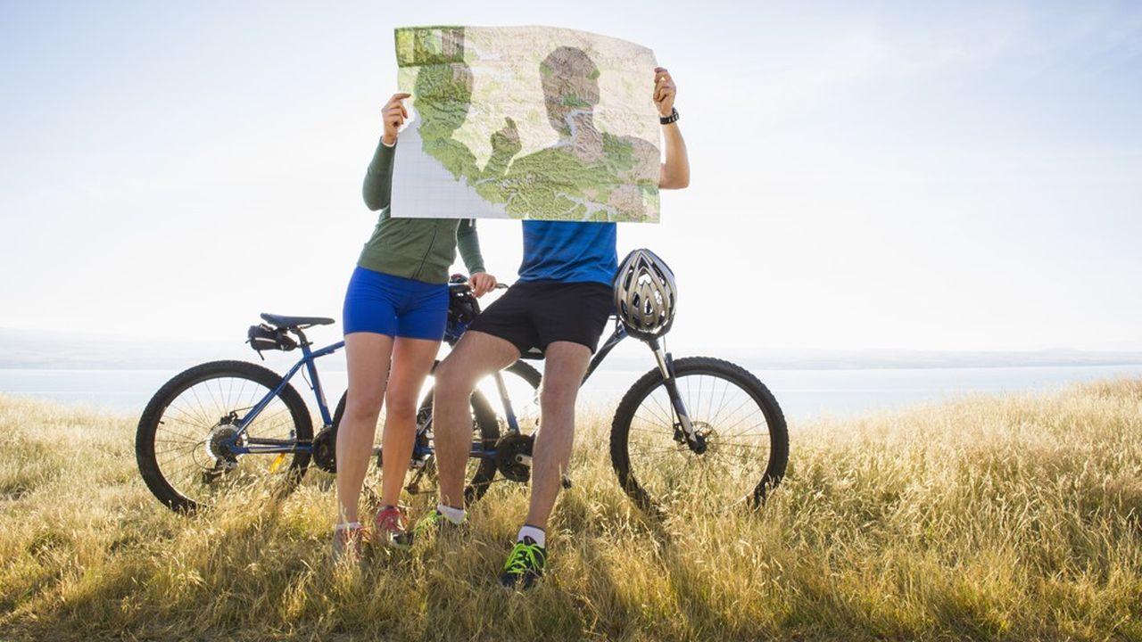 En France, près de 21 millions de personnes font du vélo pendant leurs vacances.