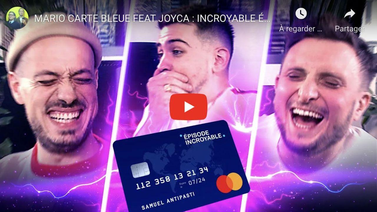 Les youtubeurs McFly et Carlito font la promotion de la néobanque Vybe.