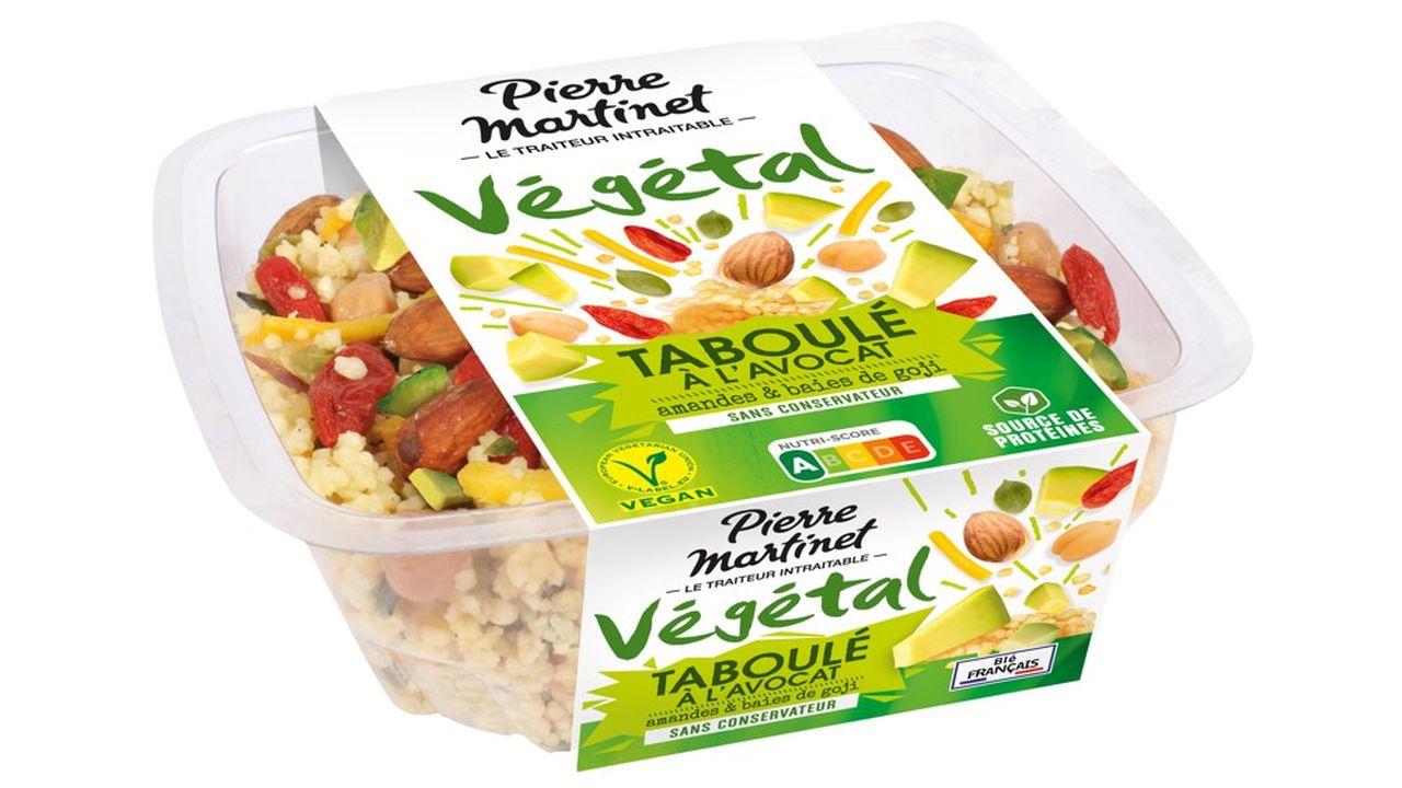 Pierre Martinet continue de renforcer ses gammes, notamment sur les recettes bio, mais aussi végétales et veggies, lancées en 2017 et dont la demande «est en forte hausse».
