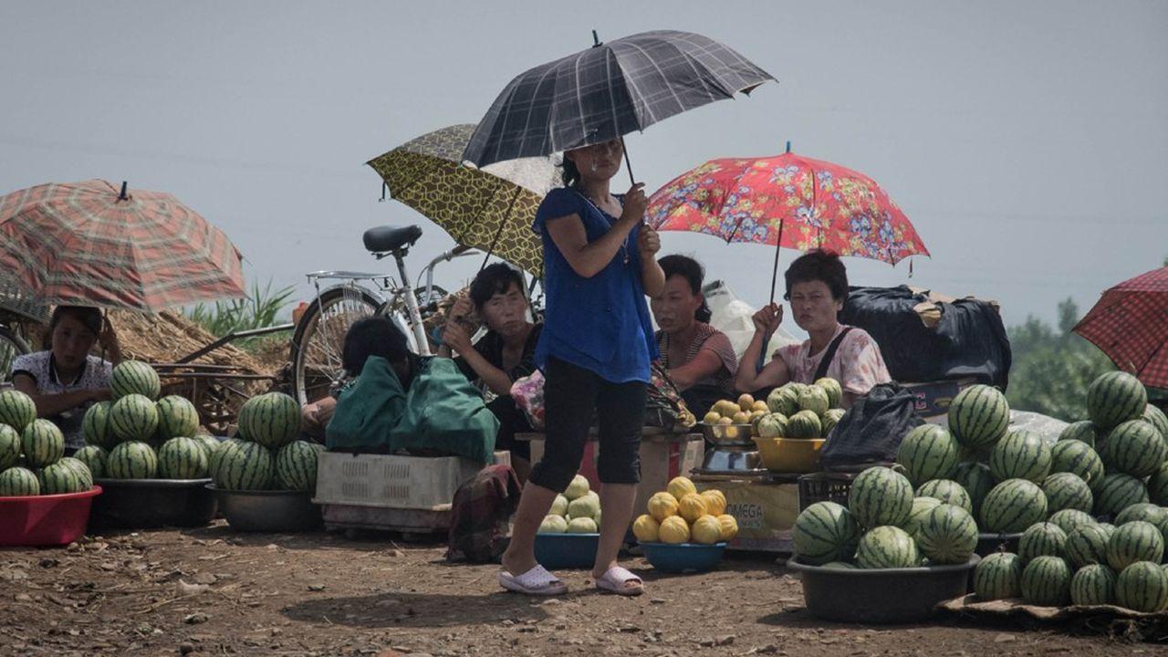 Les prix de denrées comme le maïs se sont envolés en Corée du Nord, qui redoute une famine comparable à celle des années 1990.