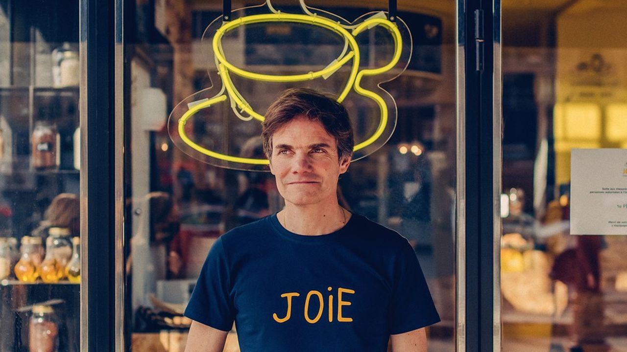 Yann Bucaille Lanrezac, le fondateur de Café Joyeux.