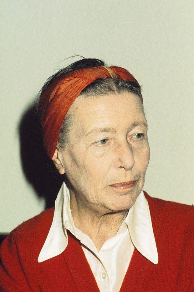 Simone de Beauvoir, ici en 1975. L'auteure du «Deuxième Sexe» a participé au mouvement féministe des années 1970.