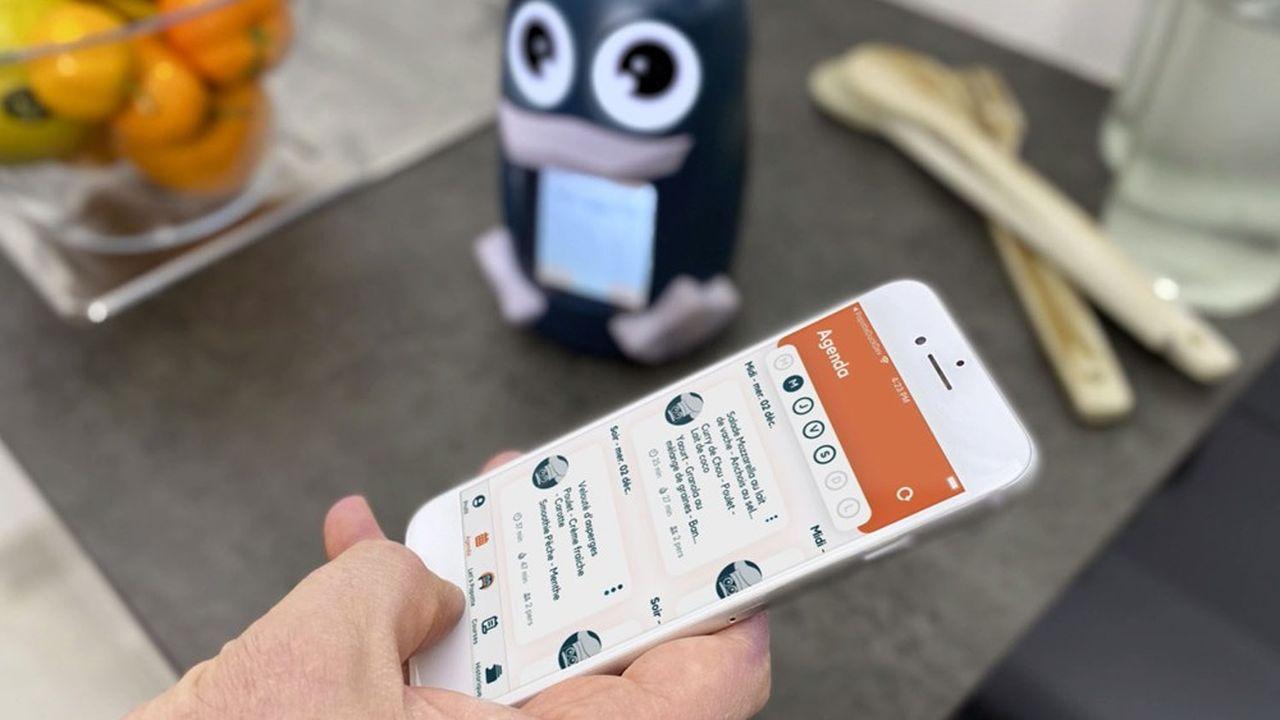 Gratuite, l'application Popotte Duck a été téléchargée 10.000 fois depuis son lancement au mois de janvier.