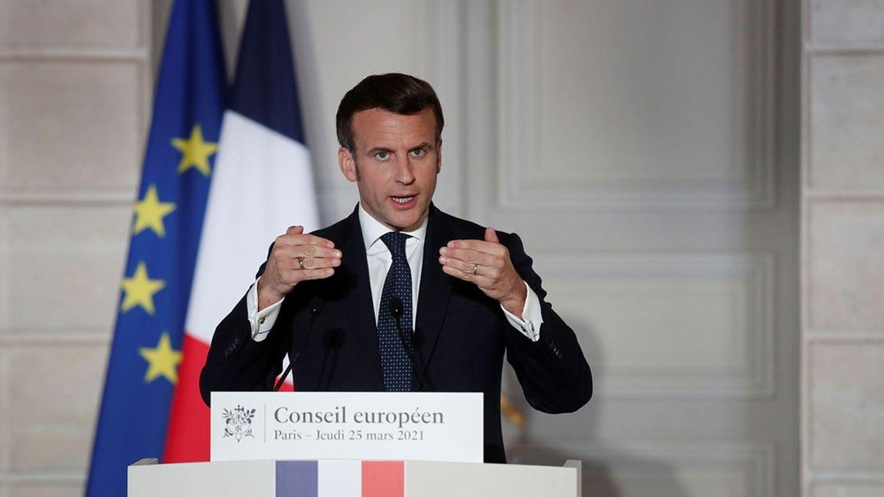 «Je n'ai aucun mea culpa à faire, aucun remords, aucun constat d'échec. Nous avons eu raison de le faire», a déclaré Emmanuel Macron jeudi soir à propos de sa décision de ne pas reconfiner fin janvier.