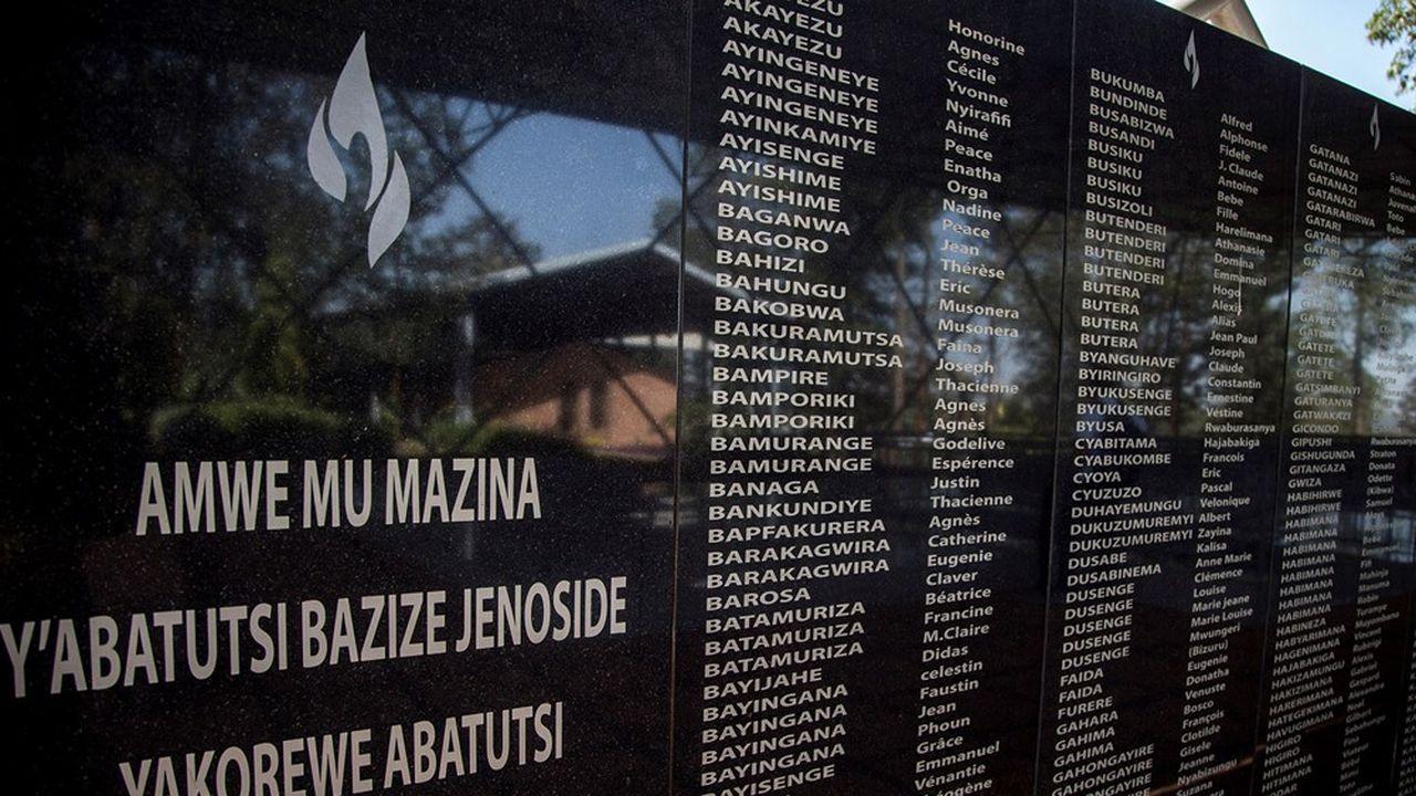 Le mémorial de Ntarama, à Kigali, rappelle les noms des victimes du génocide des Tutsi et des Hutus modérés en 1994 au Rwanda.