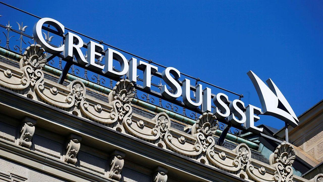 Credit Suisse à nouveau dans la tourmente.
