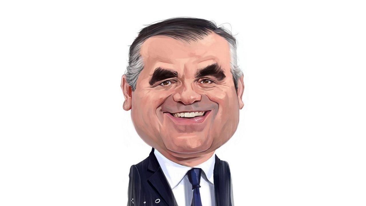 """caricatura di ïoO, per """"Les Echos"""""""