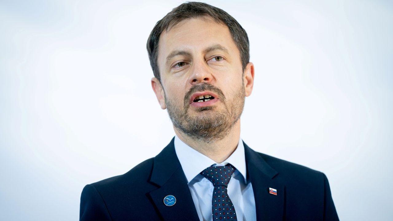 Le nouveau premier ministre slovaque, Eduard Heger, a été confirmé mardi par la présidente de la république.