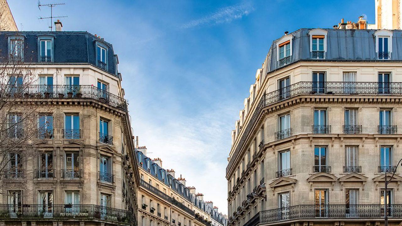 A l'échelle de la capitale, les prix chutent de 2,2% sur un an àmi-mars, dévoile une étude de PriceHubble.