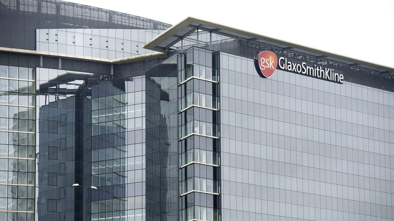 Le siège de GSK, dans l'ouest de Londres.