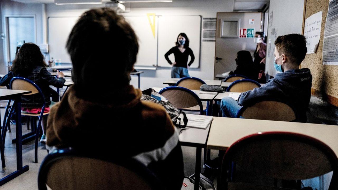 Avec les nouvelles règles sanitaires, le nombre de fermetures de classes s'envole.
