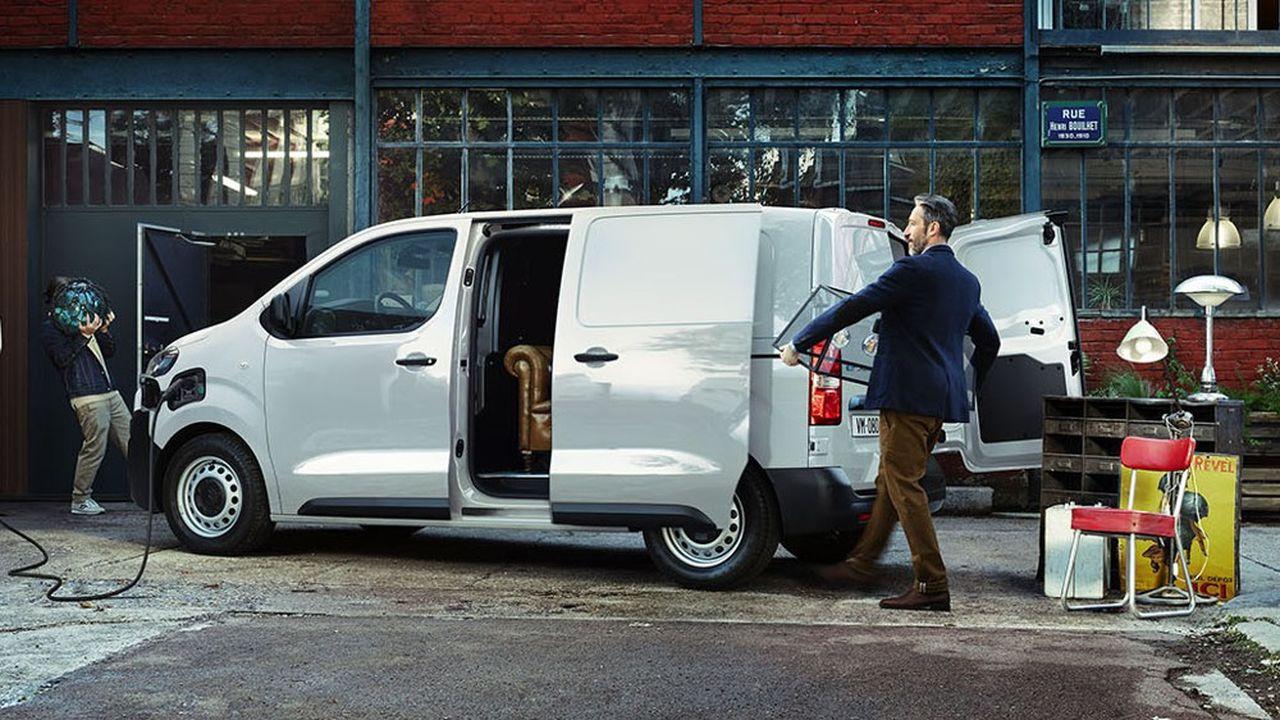 Chez Citroën, l'ë-Jumpy 100 % électrique a été élu véhicule utilitaire de l'année 2021.