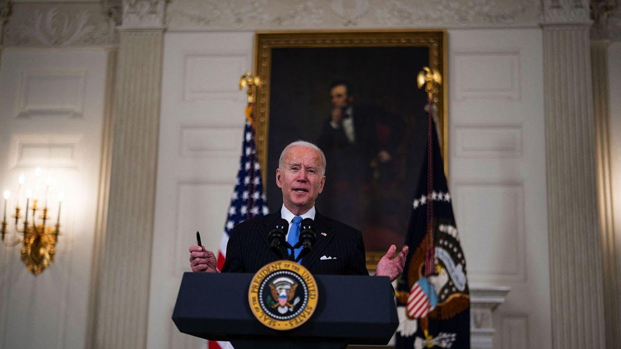 Le président des Etats-Unis, Joe Biden, à la Maison-Blanche.