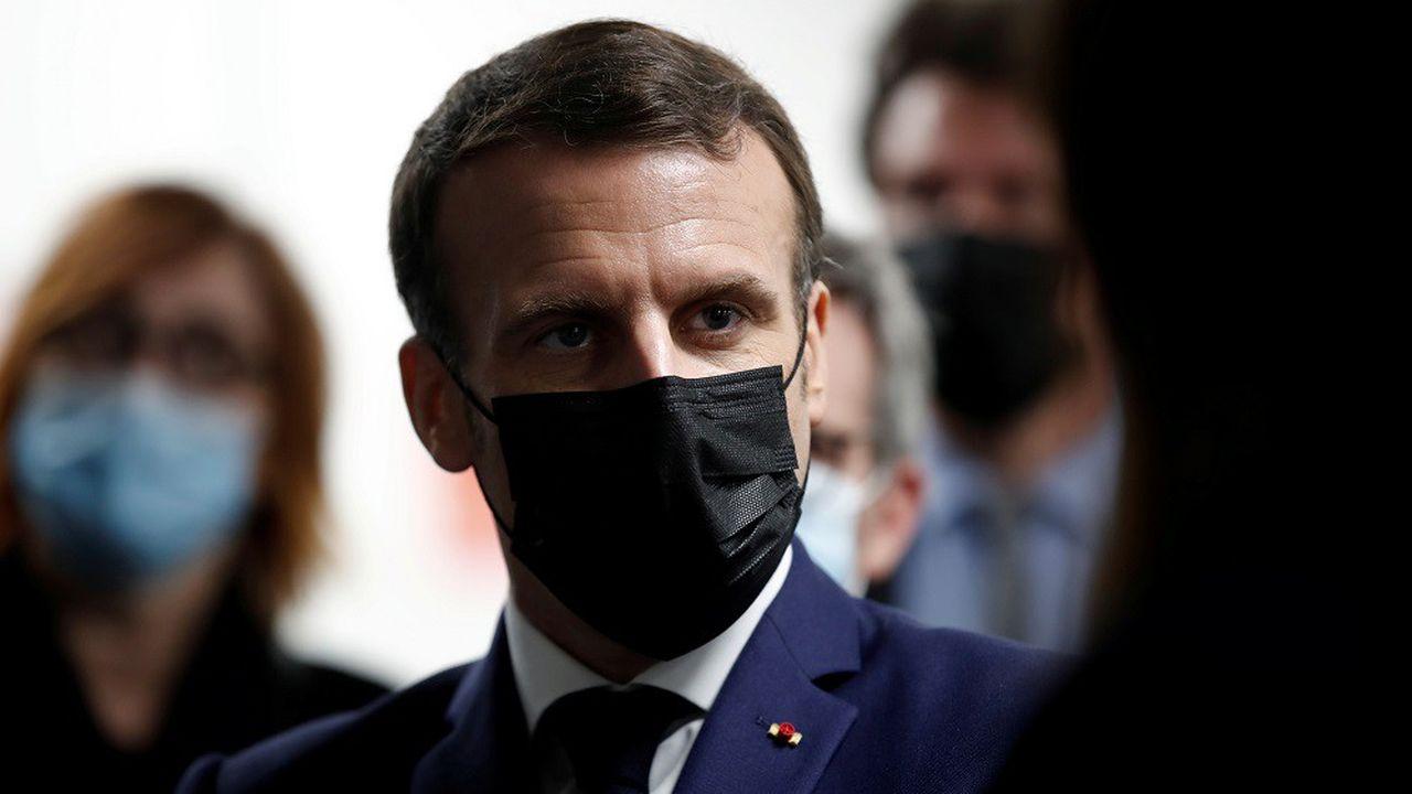 Le président Emmanuel Macron prononce une allocution à 20heures ce soir.